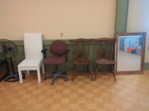 Assorted Tables & Chairs