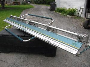 Plieuse aluminium VAN-MARK