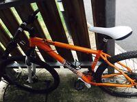 Voodoo orange bike
