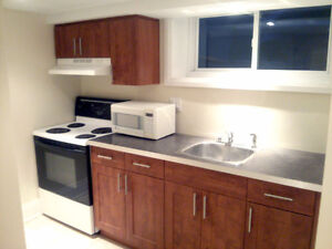June 1st - Large Bachelor Apartment for Rent