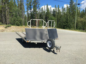 Triton Snowmobile/ATV Trailer Ride On/Ride Off $2900.00 OBO