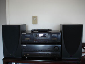 Pioneer audio system with 2x100 W speakers