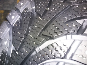REDUCED Studded snow tires and rims for GM
