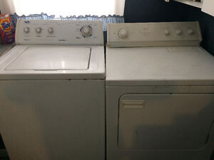 Washer and Dryer in great working order