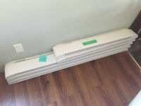 Baseboard Heaters White x5 (Brand New/Never Used)