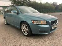 2007 07 VOLVO V50 D5 S ESTATE, ALLOYS, LEATHER, DRIVES GREAT