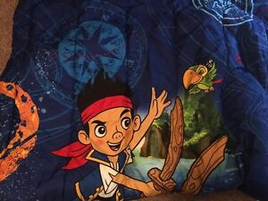 Jake and the Neverland Pirates Twin Comforter with pillow case