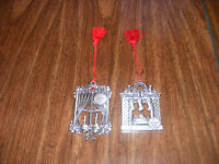 Avon Pewter Christmas Collectibles