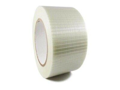 Fiberglass Filament Tape Transparent Bi-directional Tape 2 Inch X 60 Yards