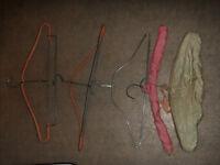 Vintage Coat Hangers Set $15.00