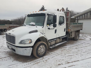 2013 Freightliner M2 106 Crew Cab S/A Dump Truck