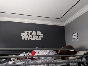 Clone trooper wall decals