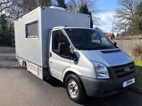 2009 09 FORD TRANSIT T350 TDCI 140PS * MOBILE OFFICE * GENUINE 3000 MILES * DIES