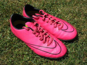 Indoor Soccer Shoes -- Nike Mercurial + Adidas Messi