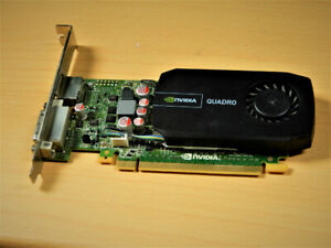 Graphics card 1gb Quadro 600 (HDMI and DVI)