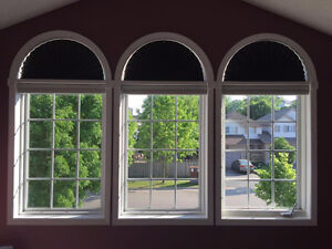 Arch Half-Moon Window Shades