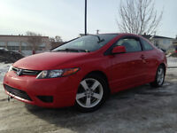 2007 HONDA CIVIC COUPE - ONLY 139K - AUTOMATIC - LOADED