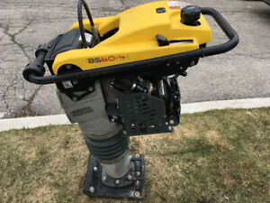Wacker neuson BS60-4 rammer/jumping jack /compactor used once