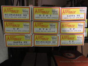 HO Scale Accurail kits for sale