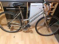 Rears woman's bike