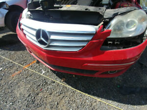 Pieces parts Mercedes B200 2008 gris rouge noir