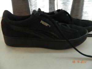 Brand new women's Puma Vikky platform shoes.