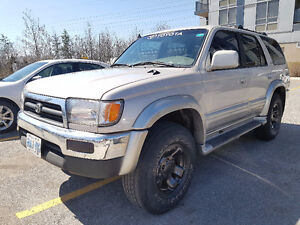1997 Toyota 4Runner Limited SUV 5 Speed Diff Lock