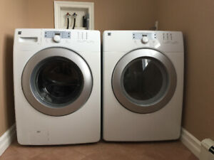 Kenmore Front Load Washer & Dryer - Excellent Condition