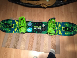 GNU smart pickle like brand new with Burton Customs