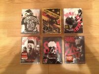 New and Sealed. Sons of Anarchy seasons 1-6 DVD set.
