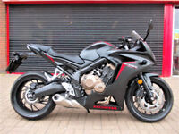 HONDA CBR 650 FA-H ABS 2017 ONE PREV OWNER FDSH HPI WARRANTY FINANCE CBR650F
