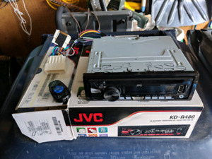 JVC Car Stereo wired for Honda