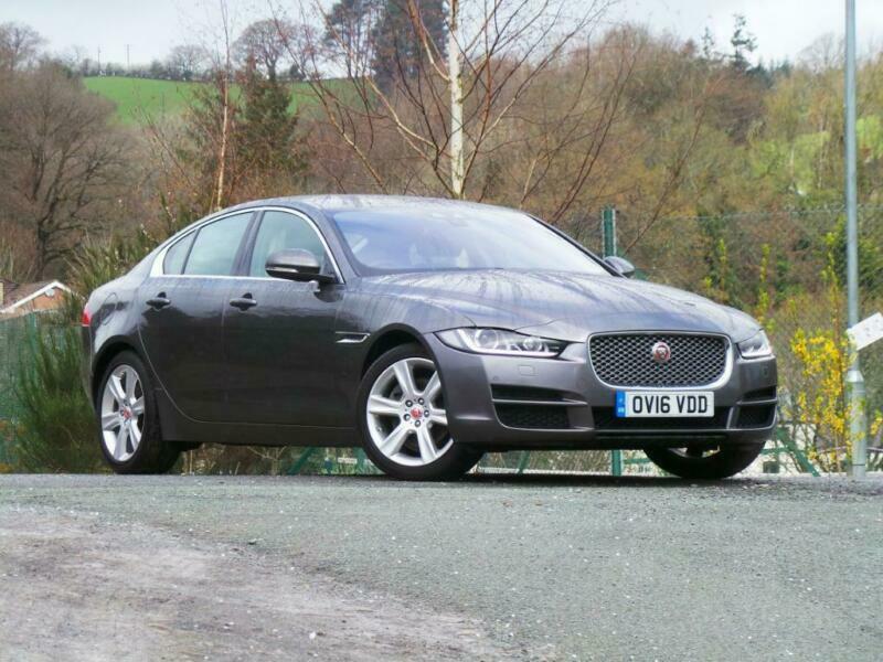 2016 Jaguar XE 2.0d 180 Portfolio 4dr Auto Diesel grey ...