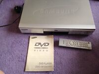 DVD Player Samsung Silver Grey Full Working Order Model M105