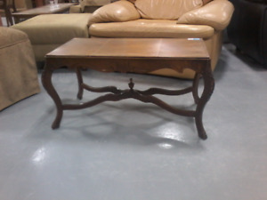 $10 Small Dark Wood coffee table