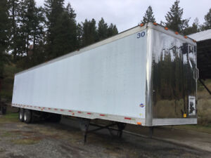 53' Trailer for storage or a shop