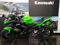 2018 KAWASAKI NINJA 650 KRT with FREE PERFORMANCE EDITION worth £1000 and 4 ...