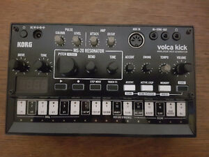 Korg Volca FM and Volca Kick