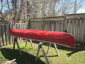 Alliston, Ontario -Fun and Solid 14' Red Canoe