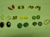 Costume jewelry-clip on earings for sale