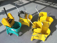 Buckets complete with Down Press