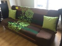 Brand new*** brown and green fabric sofa beds---ONLY £249---GRAB A BARGAIN TODAY!!!