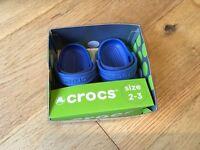 Crocs size 2 - 3