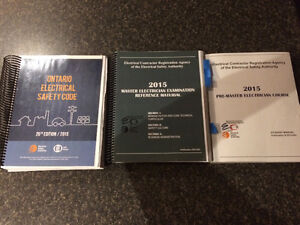 2015 electrical code, reference material, student manual