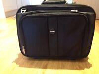 Kensington black contour roller laptop case
