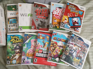 Wii system + Wii Fit + games + controlers Cambridge Kitchener Area image 7