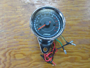 2 5/8 in. 12v electric tachometer