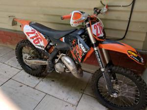 2009 ktm 150sx dirt bike