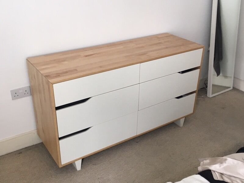 Ikea Mandal Chest Of 6 Drawers In Dalston London Gumtree. Mandal Ikea Dresser   Trend Dressers Designs
