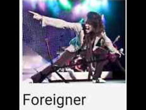FOREIGNER tonight 8pm at Rama 4-Floor center stage tickets $40.